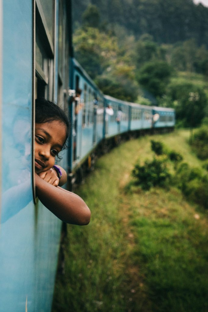 faire un trajet en train au Sri Lanka