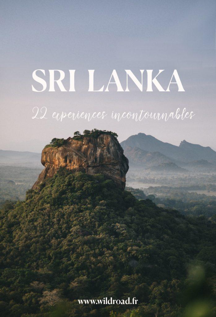 22 choses à voir et à faire en voyage au Sri Lanka
