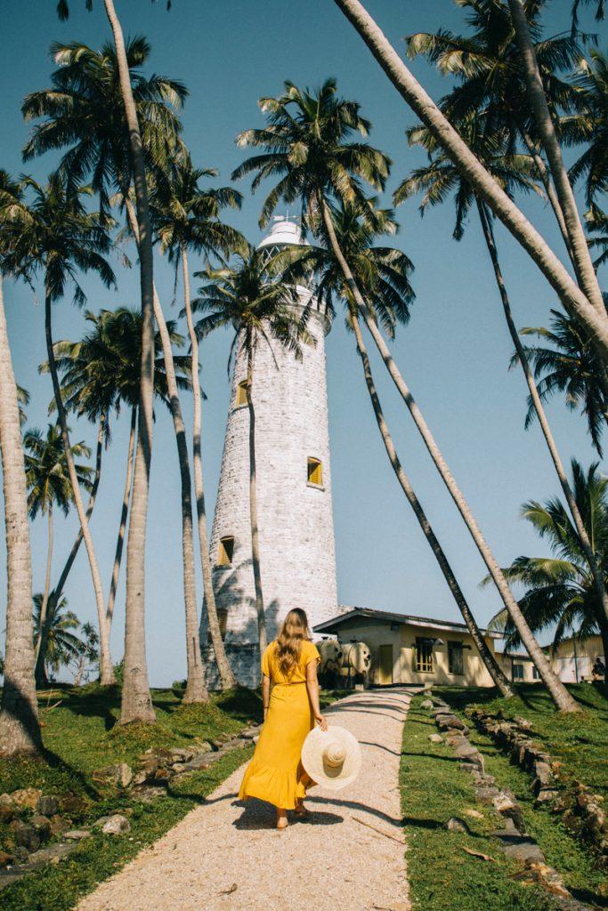 le phare coloniale de l'île de Barberyn