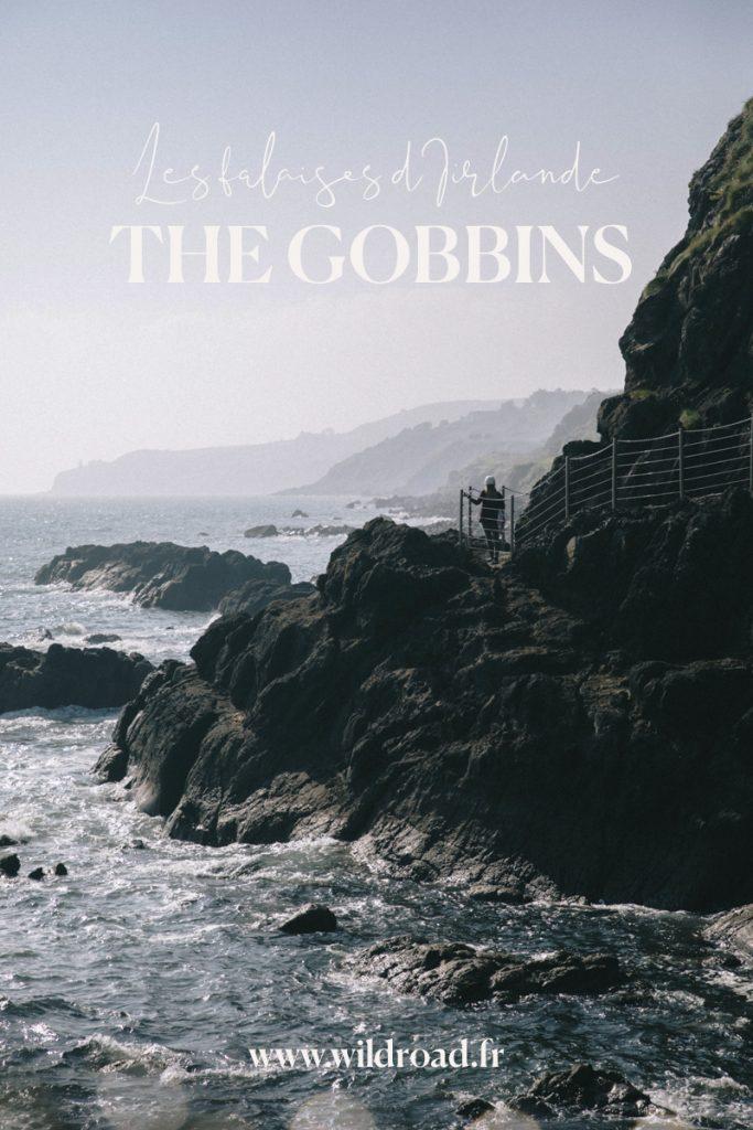 visiter les Gobbins, des falaises dramatiques en Irlande du Nord