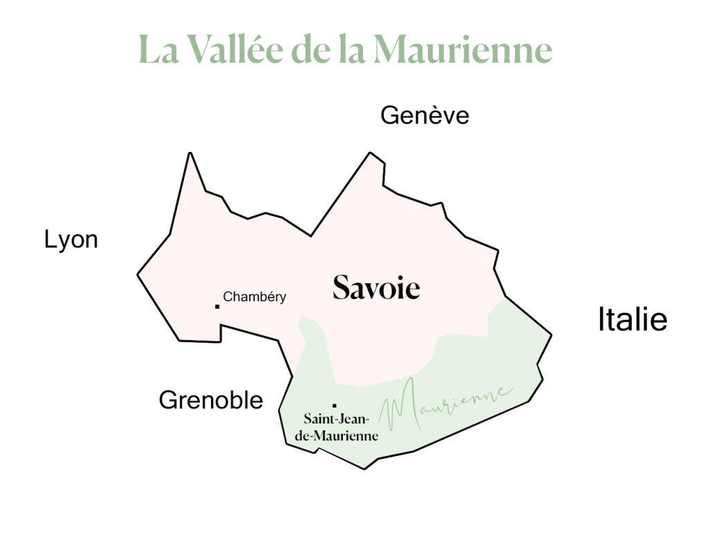 La vallée de la Maurienne en Savoie