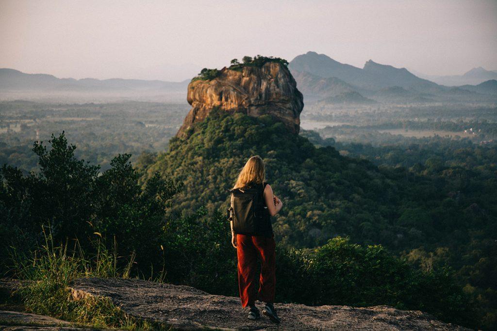 voyager pour une femme seule au Sri Lanka