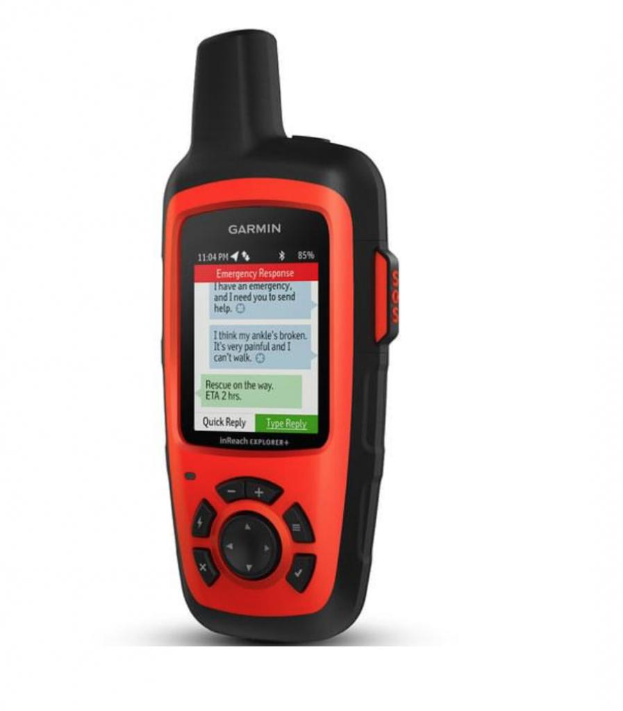 GPS garmin pour se repérer en randonnée