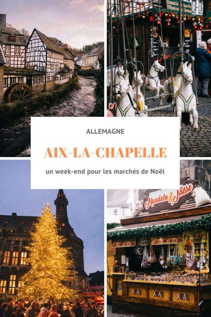 un week-end dans la région de Eifel à la période Noël pour visiter les marchés de Noël