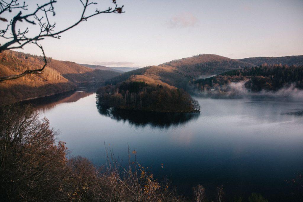 240 km de sentiers de randonnée dans le parc national d'Eifel