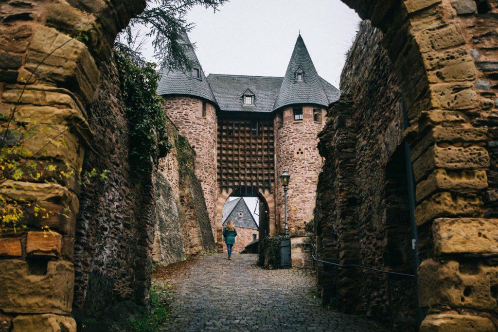 visiter le chateau fort de Heimbach