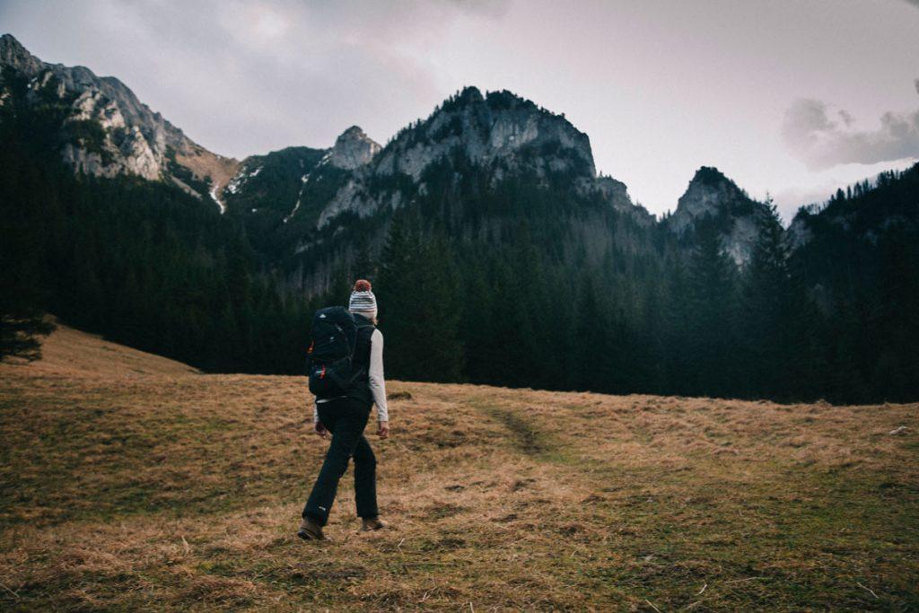 randonnée dans la vallée de Koscieliska