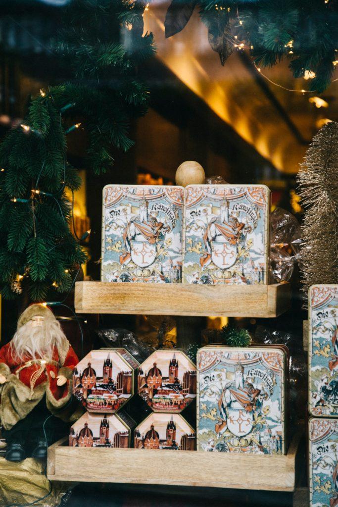 les magasins historiques de Nobis Printen à Aix-le-Chapelle