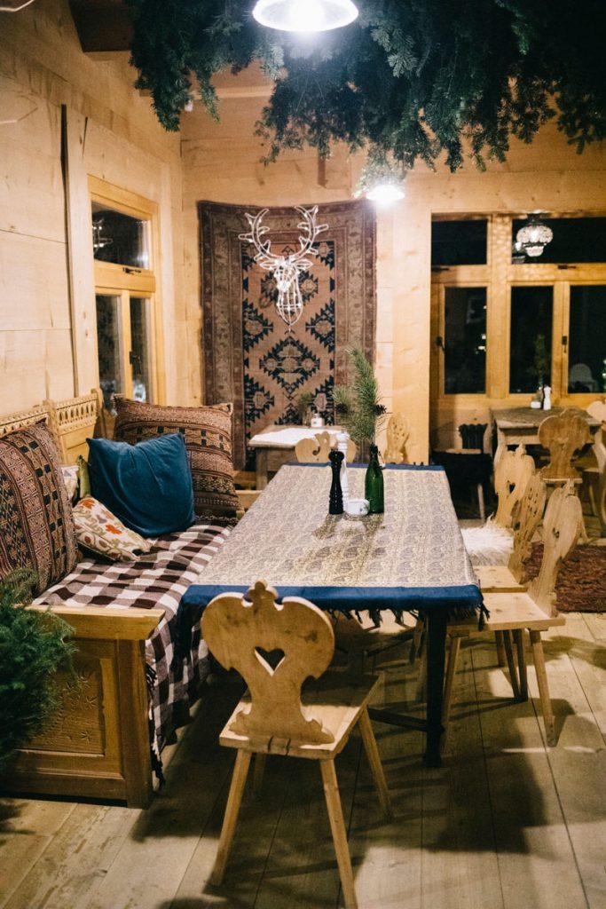 les restaurants vers Chocholow