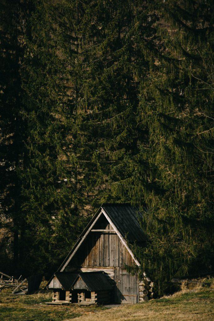 Les maison traditionnelles des montagnes dans les Tatras
