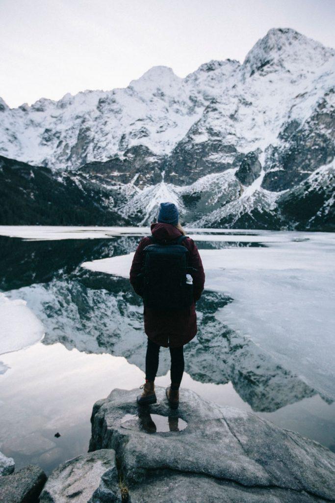un des plus beaux paysages des Tatras, Morskie Oko