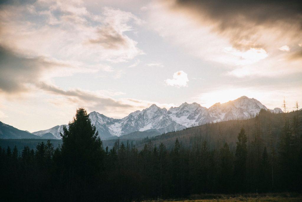les montagnes des Tatras du côté Polonais