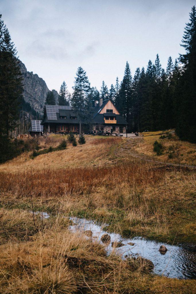 le refuge d'ornai dans le parc national des Tatras
