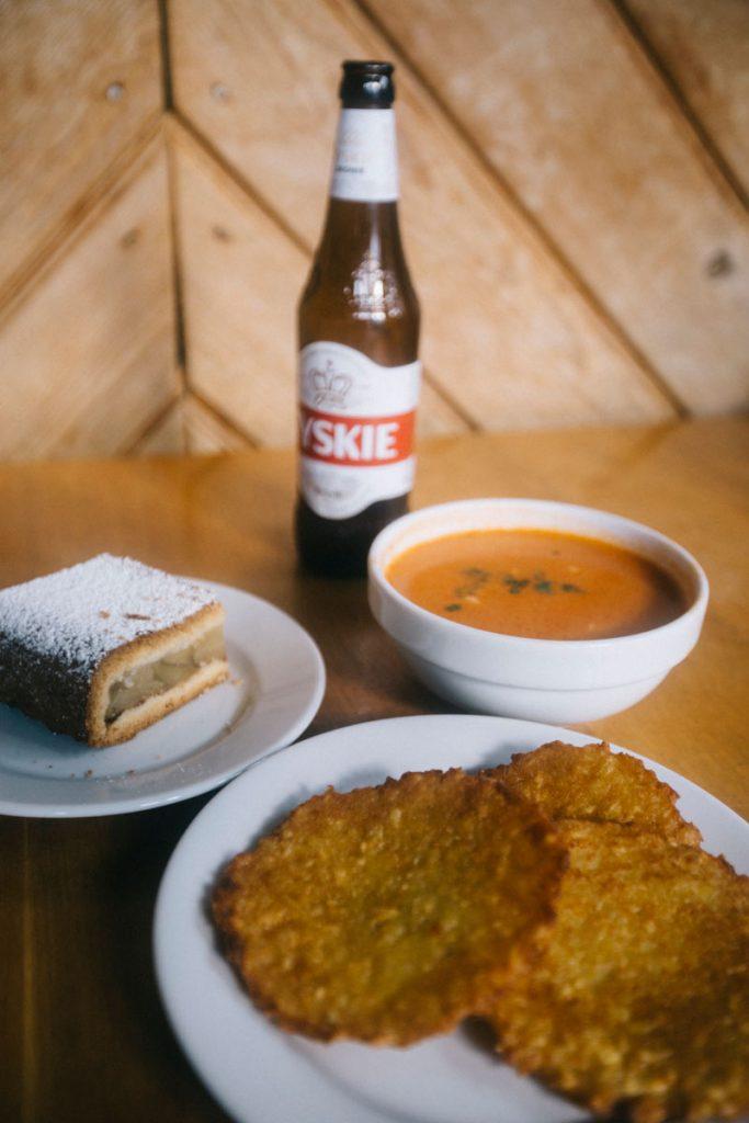 Un repas dans un refuge du parc national des Tatras