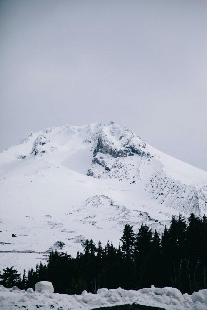magnifique vue sur le mont Hood