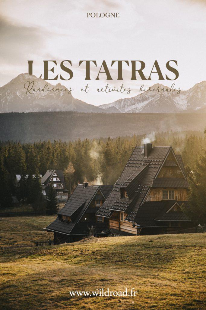 Que faire en hiver dans la région de Zakopane et des Tatras du côté polonais : randonnée, thermes, restaurants etc.