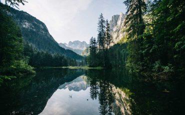 Bivouac t randonnée autour du lac de Gosausee en Autriche