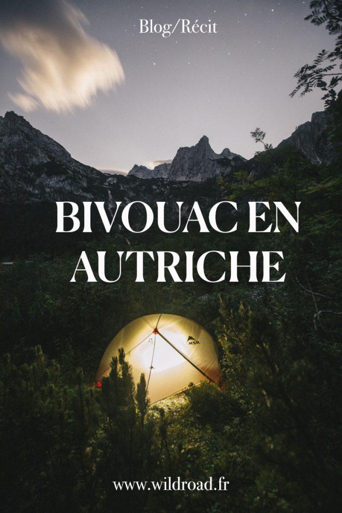 Tous mes conseils pour faire un bivouac en Autriche. Partez en randonné autour du lac de gosausee et planter la tente au lac supérieur.