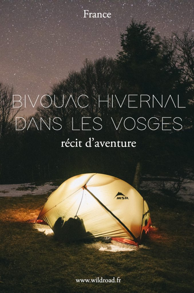 Bivouac du nouvel an dans les Vosges : itinéraire, conseil, équipement