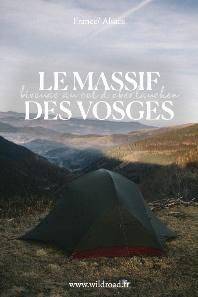 Randonnée et bivouac du nouvel an pour le 31 Décembre dans les Vosges
