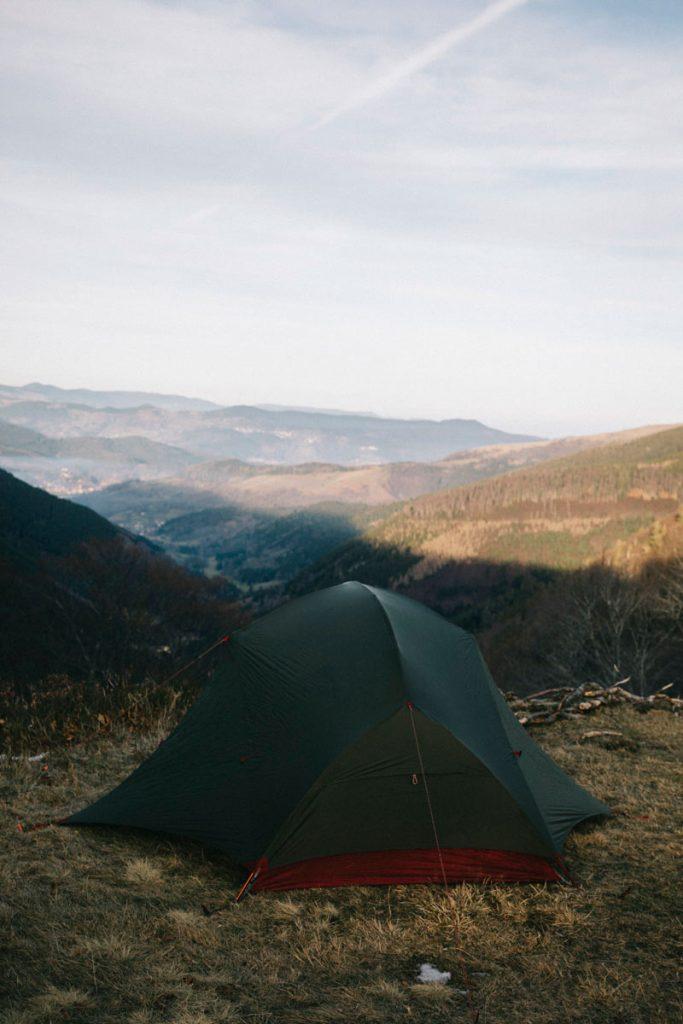 spot bivouac, camping sauvage dans les Vosges