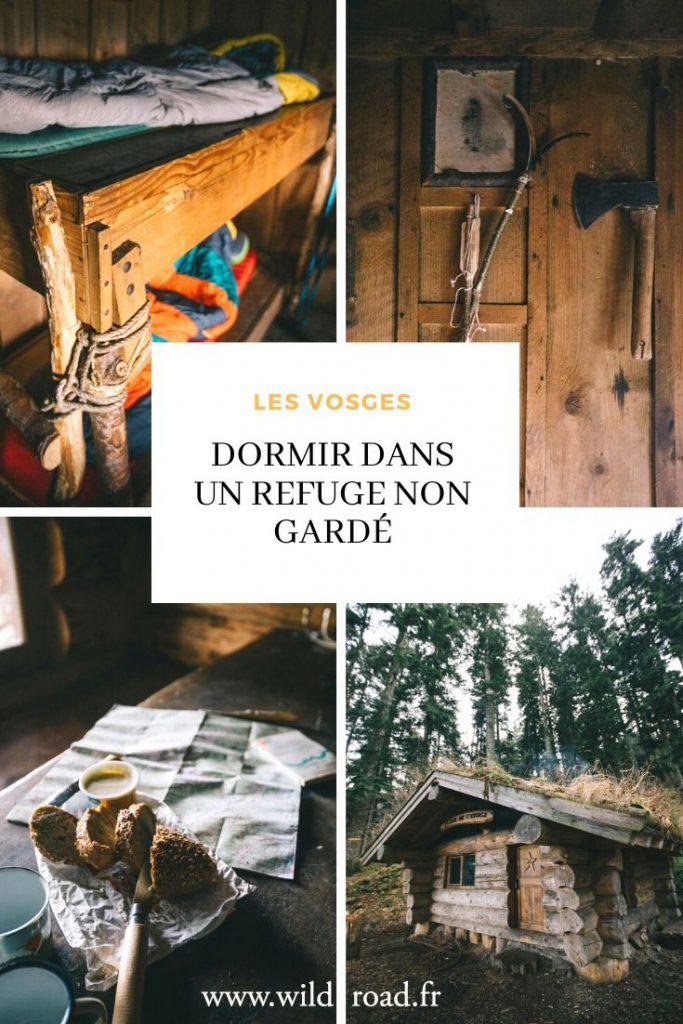 Dormir dans un refuge non gardé dans les vosges : que prévoir, les règles, et comment trouver un refuge