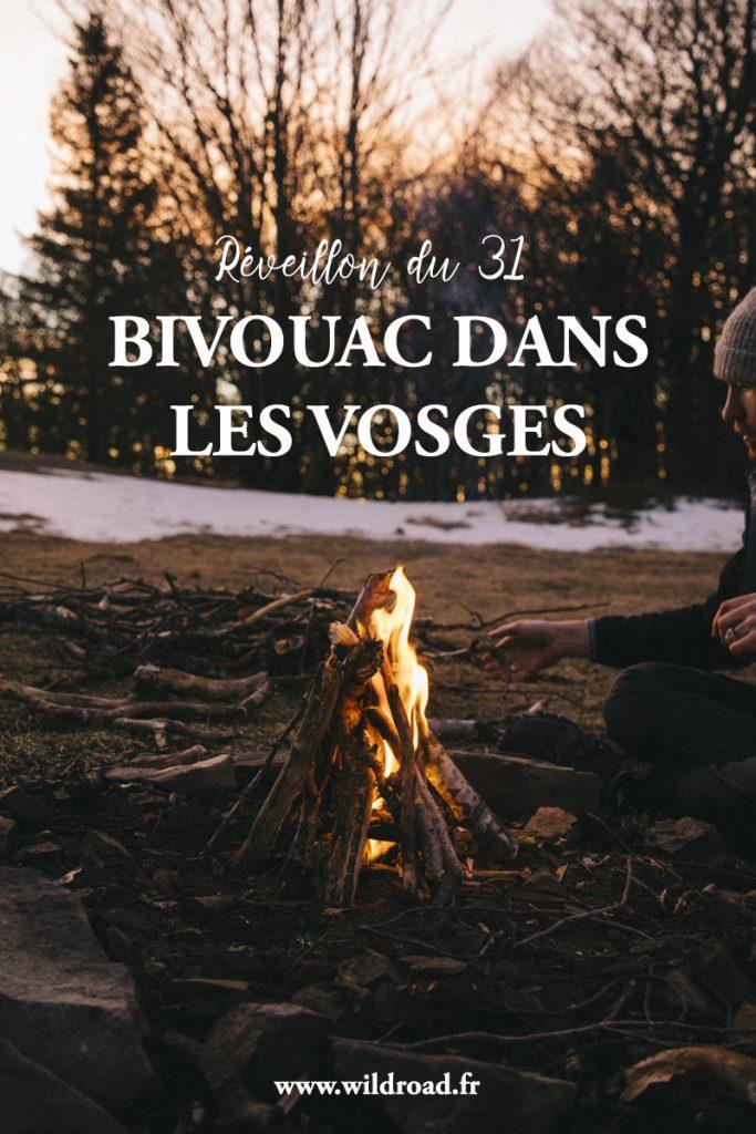 tous mes conseil pour réussir votre bivouac hivernal dans les Vosges