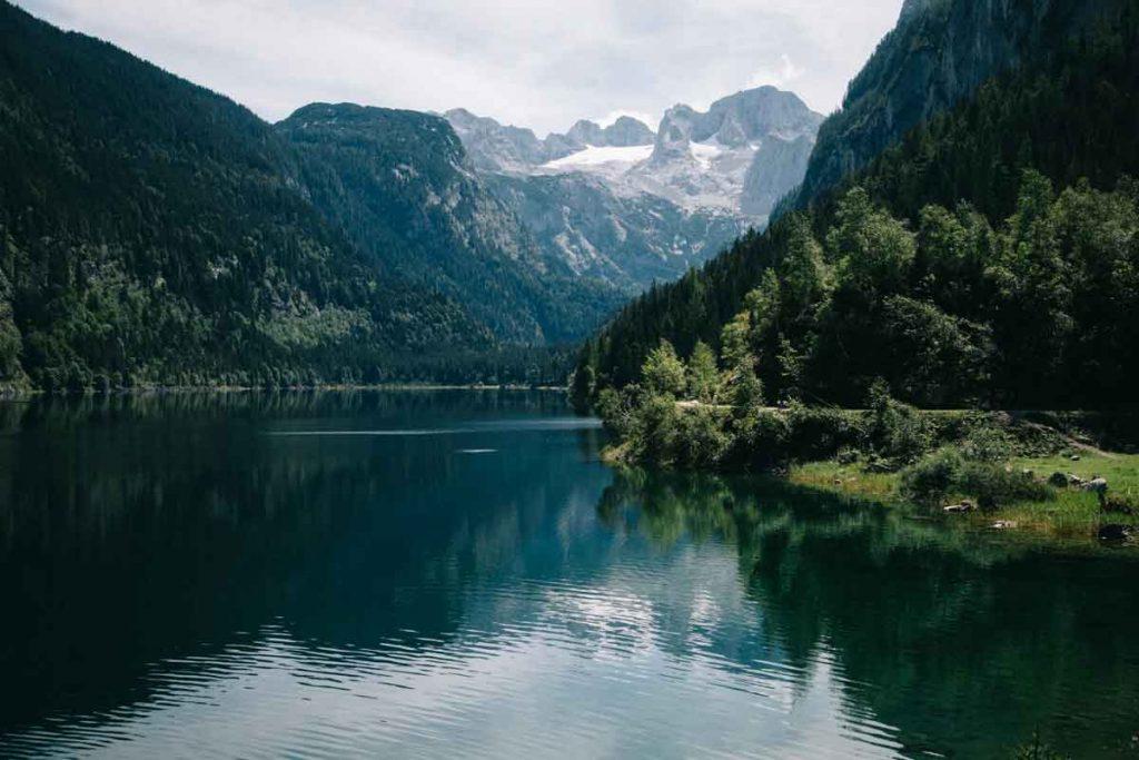 une des plus belle randonnée d'Autriche : le lac de Gosausee et le glacier de dorer Dachstein