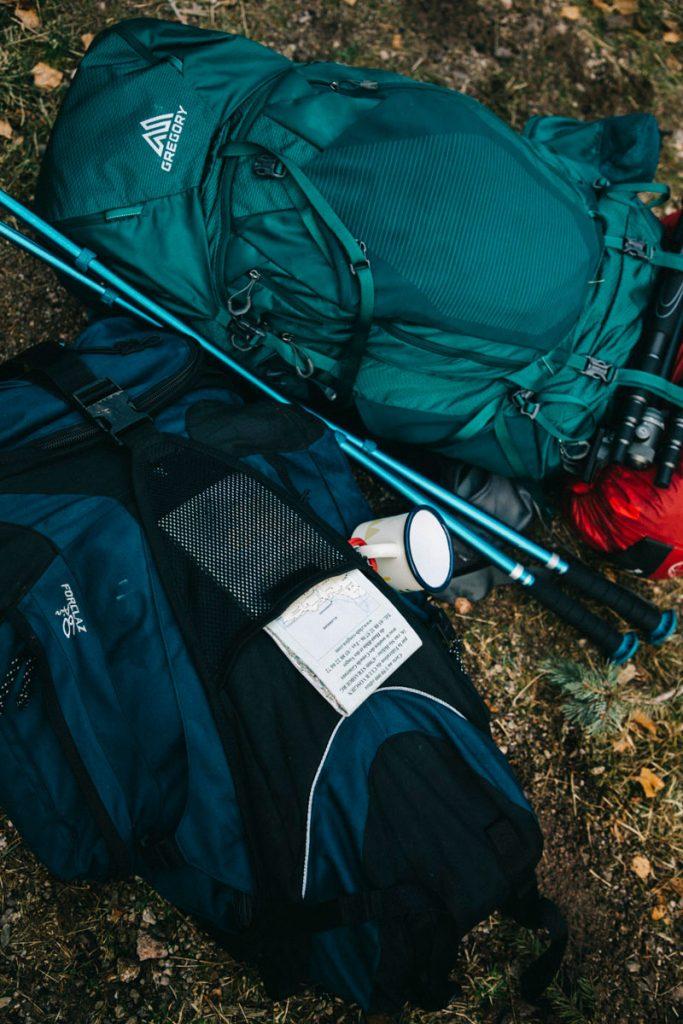 nos sac à dos pour la randonnée dans les Vosges