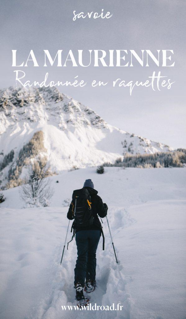 La raquette est un bon sport pour découvrir les montagnes en hiver. la Savoie et plus particulièrement la Maurienne possède de nombreux sentiers balisés