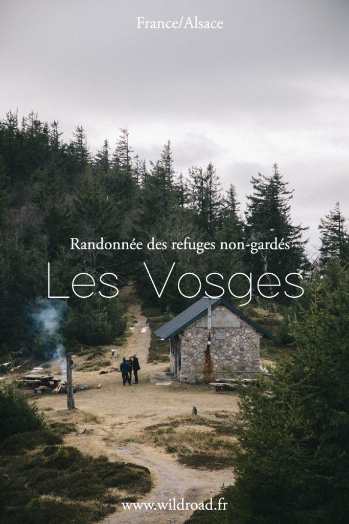 La randonné du brézouard dans le massif des Vosges pour découvrir 4 refuges non-gardés