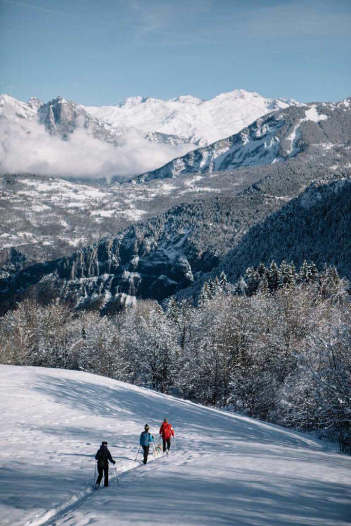 Faire une sortie en raquette dans la vallée de la Maurienne en Savoie