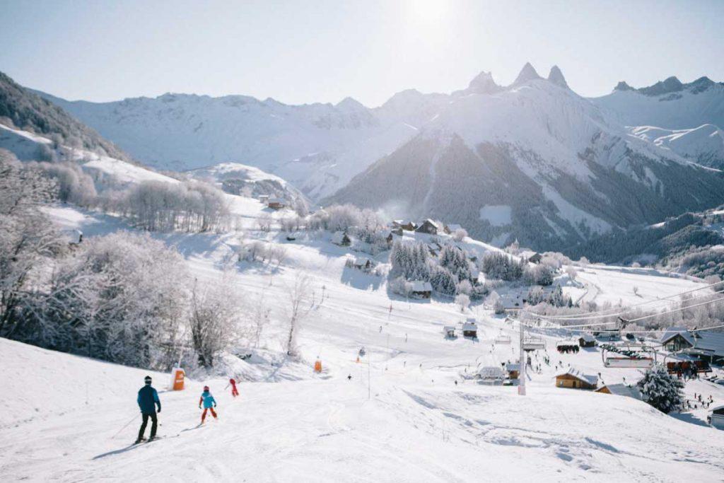 les pistes sur Saint-Jean d'Armes en Maurienne