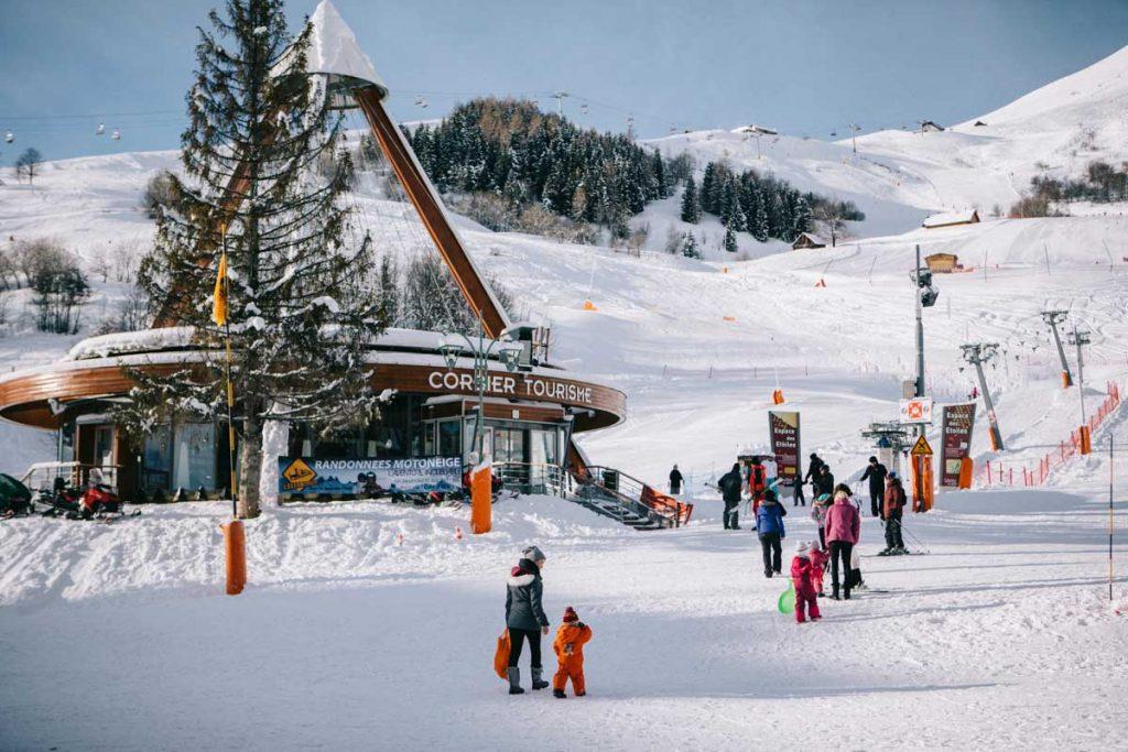 Une station de ski familiale en Savoie dans les Alpes Françaises