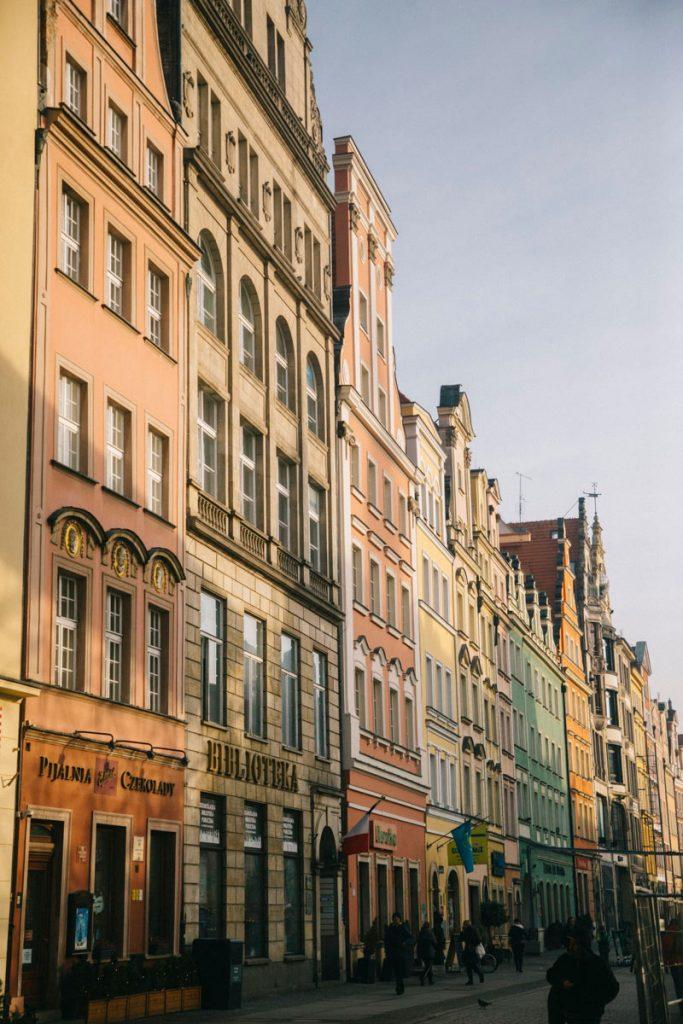 W<roclaw capitale de la Basse-Silèsie en Pologne