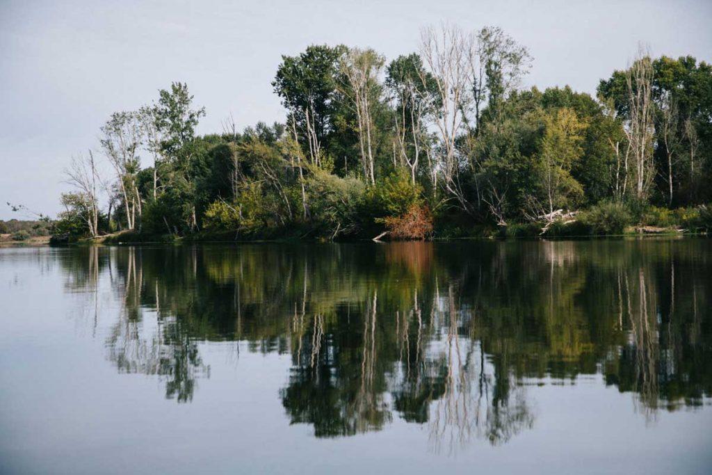 week-end 100% nature avec canoë sur le Loire Credit photo : wildroad / clara Ferrand