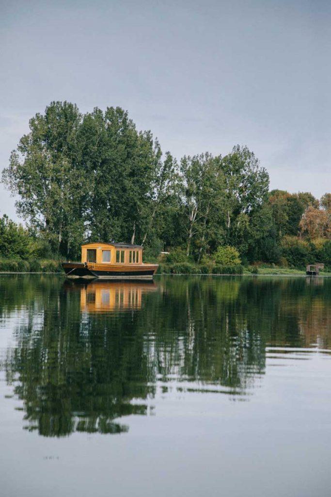 balade en canoë sur les bords de la Loire