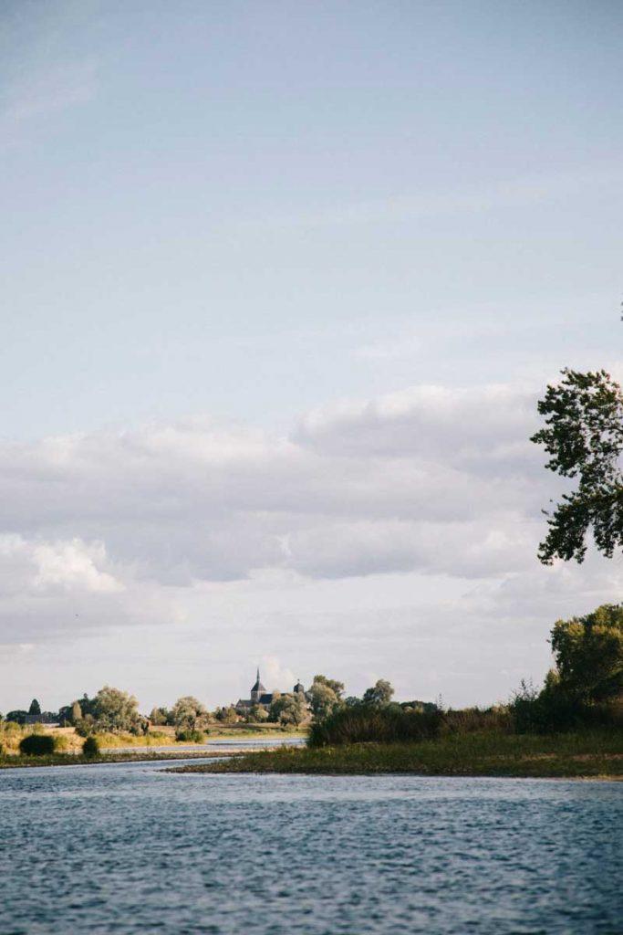 les petits villages en bord de Loire