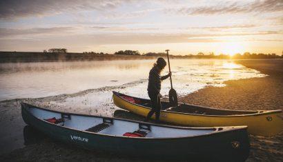 Descendre la Loire en Canoë et faire un bivouac en un week-end