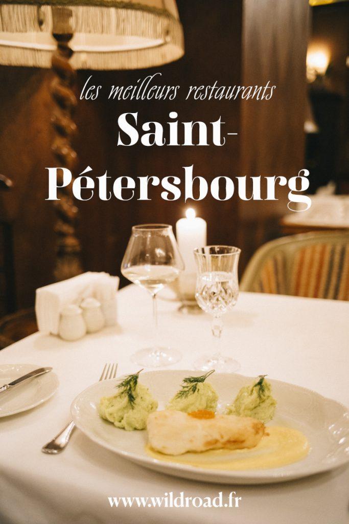 Les meilleurs restaurant de la ville russe Saint-Pétersbourg