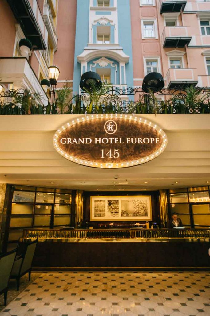 Le luxe des hôtel Belmond en Russie