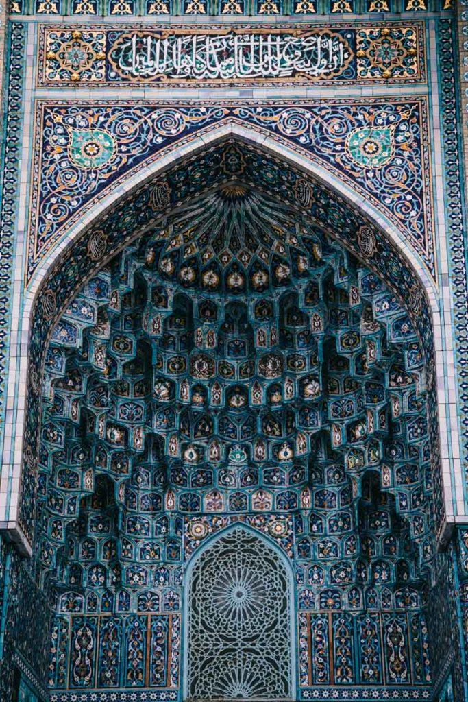la grande mosquée bleue à saint Petersbourg
