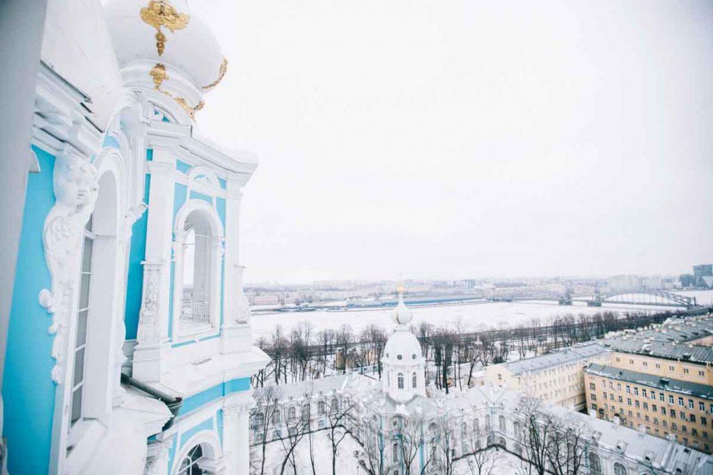 Que visiter à Saint-Petersbourg en Hiver