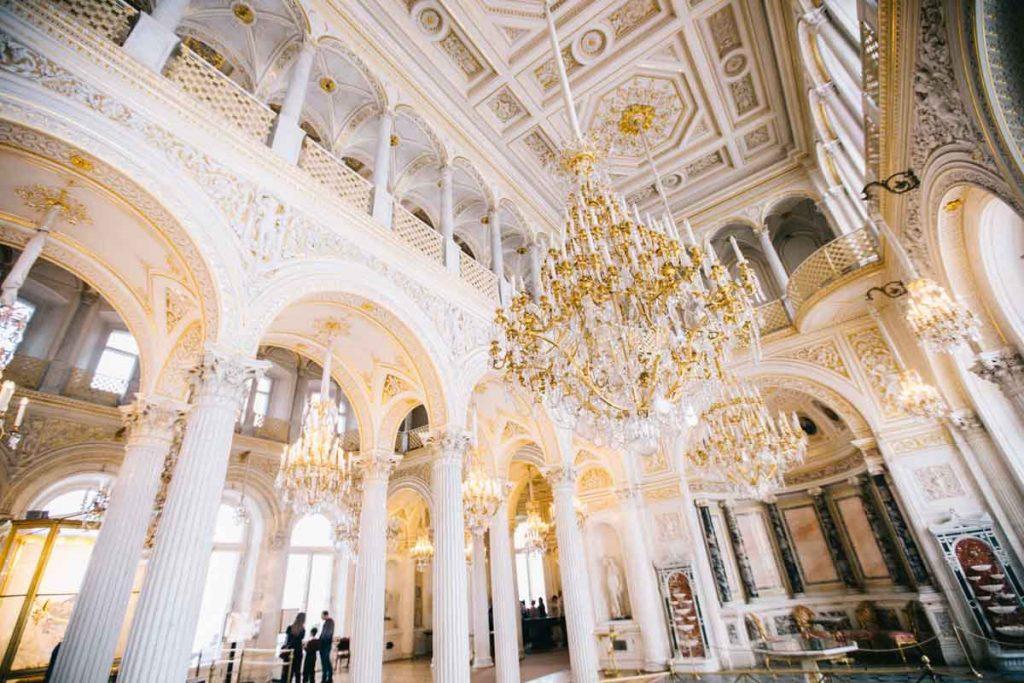 La salle du Pavillon dans le musée de l'Ermitage