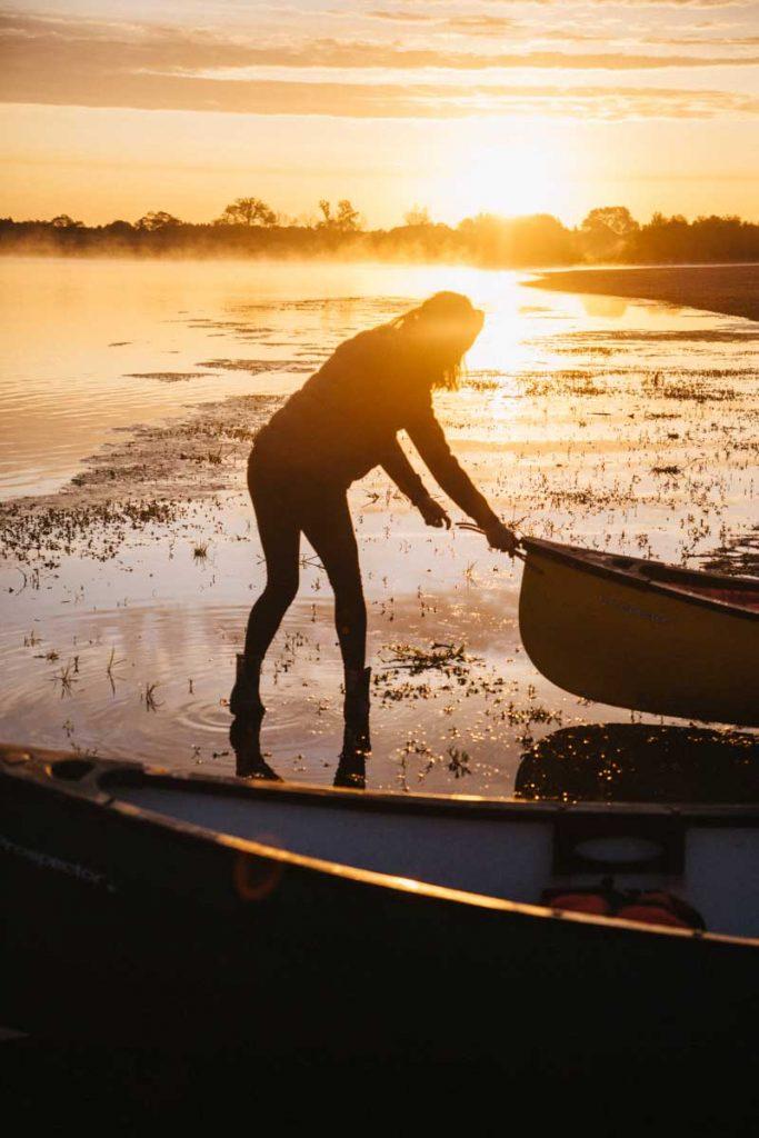 aventure pour un week-end en canoë sur le Loire