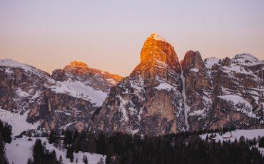 Les Dolomites en hiver, le guide complet pour votre road trip à travers les montagnes. Crédit photo : Clara Ferrand