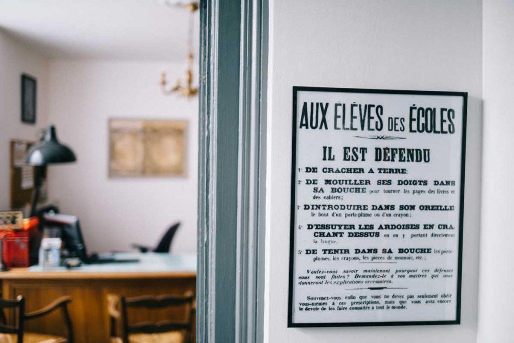 Chambre d'hôte à Sainte-Sévère-sur-Indre en mémoire de Jacques Tati. crédit photo : Clara Ferrand - blog Wildroad