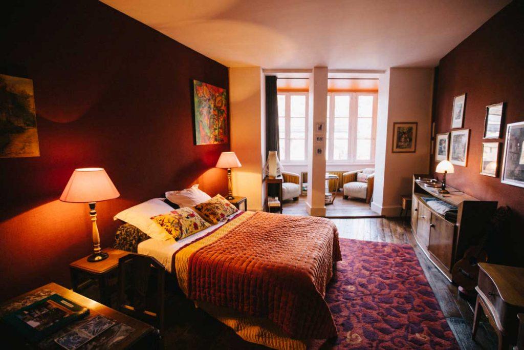 Les chambre d'hôte des vieilles maison du pont à Argenton-sur-Creuse. crédit photo : Clara Ferrand - blog Wildroad