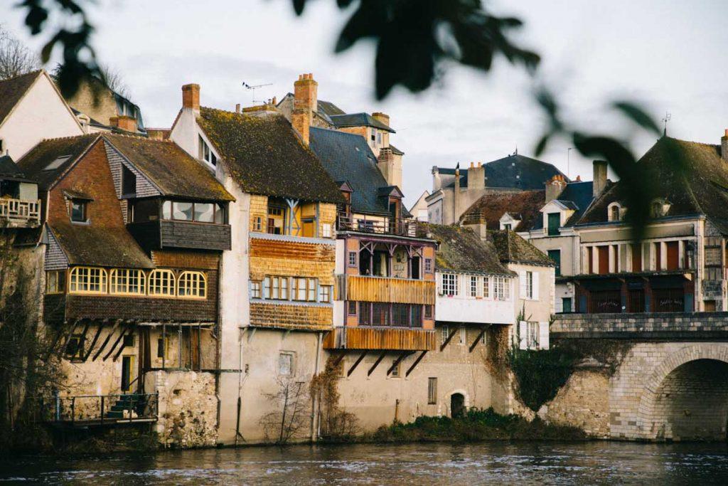 Visite du village d'Argenton-sur-Creuse dans l'Indre. crédit photo : Clara Ferrand - blod Wildroad