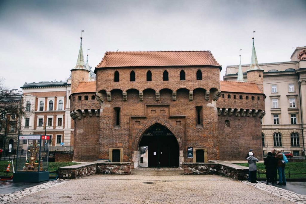 les vestiges des remparts de la ville de Cracovie. crédit photo : Clara Ferrand - blog Wildroad